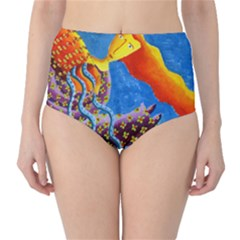 Aquarius  High Waist Bikini Bottoms