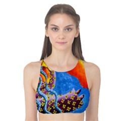 Aquarius  Tank Bikini Top