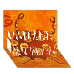Cancer Zodiac Sign You Are Invited 3d Greeting Card (7x5)