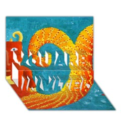 Capricorn Zodiac Sign You Are Invited 3d Greeting Card (7x5)