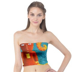 Capricorn Zodiac Sign Women s Tube Tops