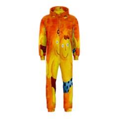 Gemini Zodiac Sign Hooded Jumpsuit (Kids)