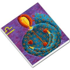 Libra Zodiac Sign Small Memo Pads