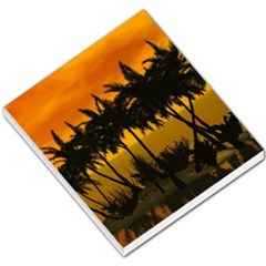 Sunset Over The Beach Small Memo Pads