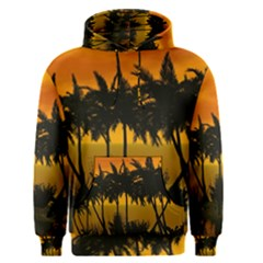 Sunset Over The Beach Men s Pullover Hoodies