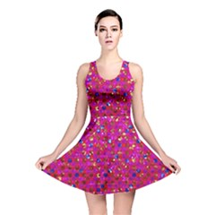 Polka Dot Sparkley Jewels 1 Reversible Skater Dresses