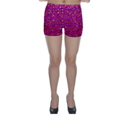 Polka Dot Sparkley Jewels 1 Skinny Shorts