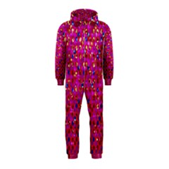 Polka Dot Sparkley Jewels 1 Hooded Jumpsuit (Kids)
