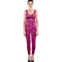 Polka Dot Sparkley Jewels 1 OnePiece Catsuits