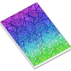Grunge Art Abstract G57 Large Memo Pads