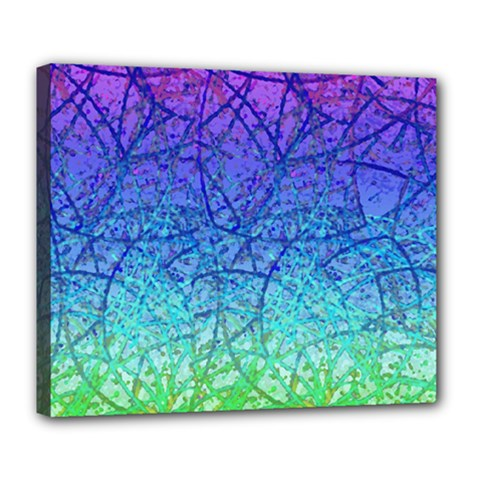 Grunge Art Abstract G57 Deluxe Canvas 24  X 20
