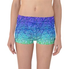 Grunge Art Abstract G57 Reversible Boyleg Bikini Bottoms