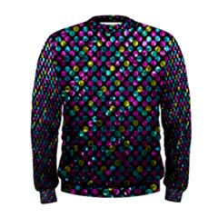 Polka Dot Sparkley Jewels 2 Men s Sweatshirts