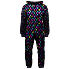 Polka Dot Sparkley Jewels 2 Hooded Jumpsuit (Ladies)