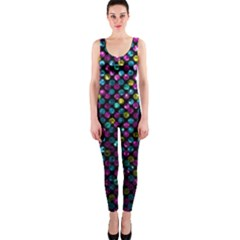 Polka Dot Sparkley Jewels 2 OnePiece Catsuits