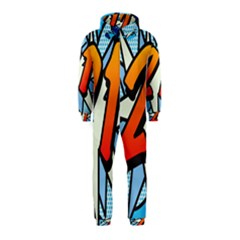 Comic Book 21 Blue Hooded Jumpsuit (Kids)