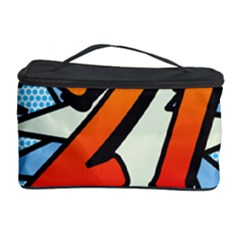 Comic Book 21 Blue Cosmetic Storage Cases