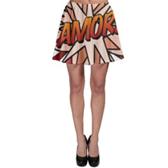 Comic Book Amor! Skater Skirts