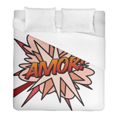 Comic Book Amor! Duvet Cover Single Side (twin Size)