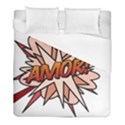Comic Book Amor! Duvet Cover Single Side (Twin Size) View1