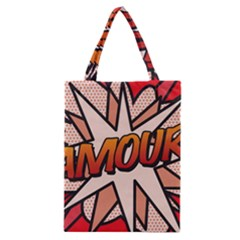 Comic Book Amour!  Classic Tote Bags