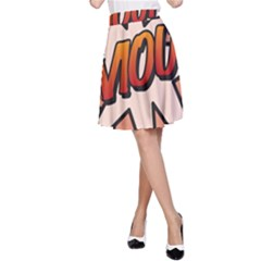 Comic Book Amour!  A-Line Skirts