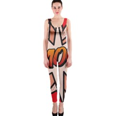 Comic Book Amour!  OnePiece Catsuits