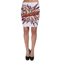 Comic Book Amour! Bodycon Skirts