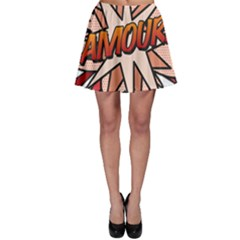 Comic Book Amour! Skater Skirts