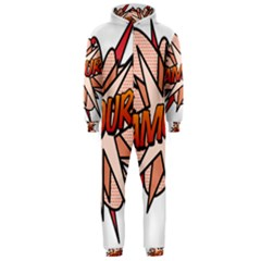 Comic Book Amour! Hooded Jumpsuit (Men)