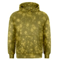Snow Stars Golden Men s Pullover Hoodies