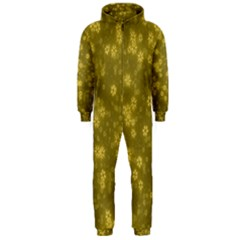Snow Stars Golden Hooded Jumpsuit (Men)