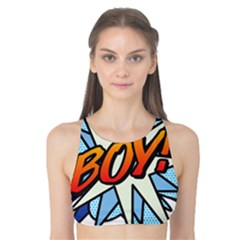 Comic Book Boy! Tank Bikini Top