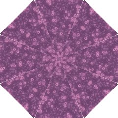 Snow Stars Lilac Hook Handle Umbrellas (small)