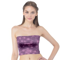 Snow Stars Lilac Women s Tube Tops