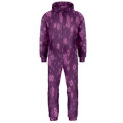 Snow Stars Lilac Hooded Jumpsuit (Men)