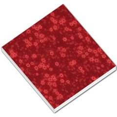 Snow Stars Red Small Memo Pads