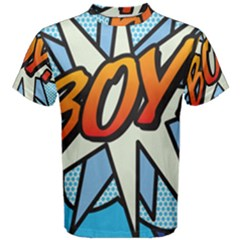 Comic Book Boy!  Men s Cotton Tees