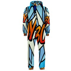 Comic Book Boy!  Hooded Jumpsuit (Men)