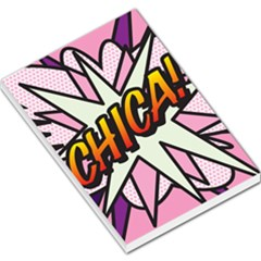 Comic Book Chica!  Large Memo Pads