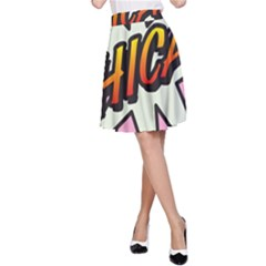 Comic Book Chica!  A-Line Skirts