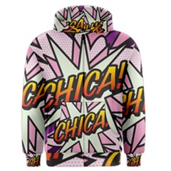 Comic Book Chica!  Men s Zipper Hoodies