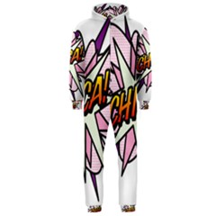 Comic Book Chica! Hooded Jumpsuit (Men)
