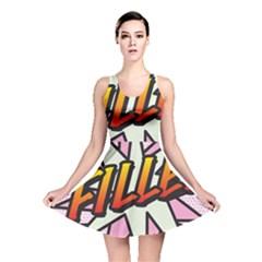 Comic Book Fille! Reversible Skater Dresses