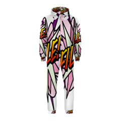 Comic Book Fille! Hooded Jumpsuit (Kids)
