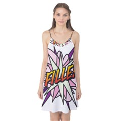 Comic Book Fille! Camis Nightgown