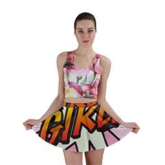 Comic Book Girl!  Mini Skirts