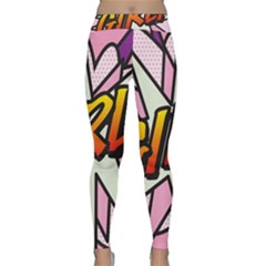 Comic Book Girl!  Yoga Leggings