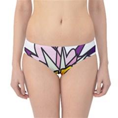 Comic Book Girl!  Hipster Bikini Bottoms