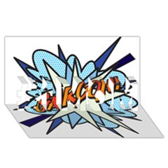 Comic Book Garcon! #1 MOM 3D Greeting Cards (8x4)